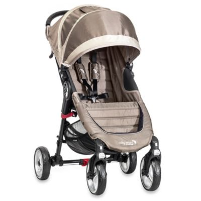 Baby Jogger® City Mini Single 4-Wheel Stroller in Sand