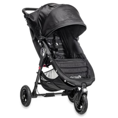 Baby Jogger® City Mini™ GT Single Stroller in Black/Black