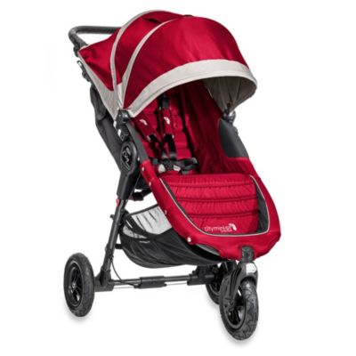 Baby Jogger® 2014 City Mini GT™ Single Stroller in Crimson/Grey