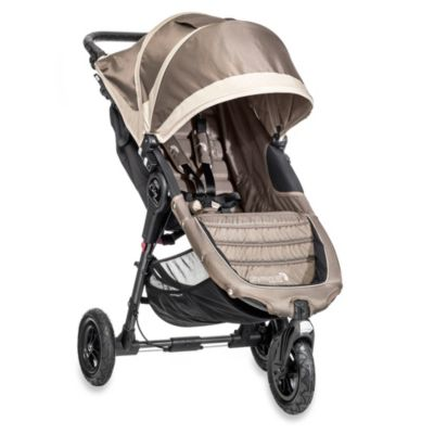 Baby Jogger® City Mini™ GT Single Stroller in Sand/Stone