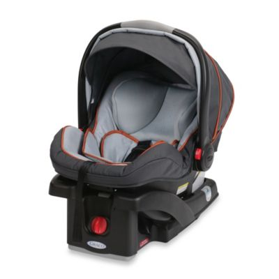 Infant Car Seats > Graco® SnugRide® Click Connect™ 35 LX Infant Car Seat in Orange/Grey