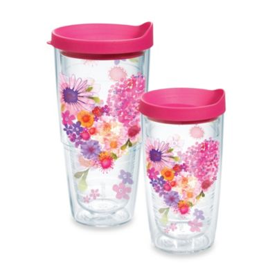Tervis® Floral Hearts Wrap 16-Ounce Tumbler with Lid