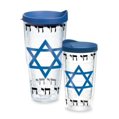 Tervis® Star of David Wrap Tumbler in Light Blue