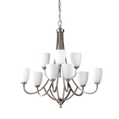 Feiss® Perry 9-Light Multi-Tier Chandelier