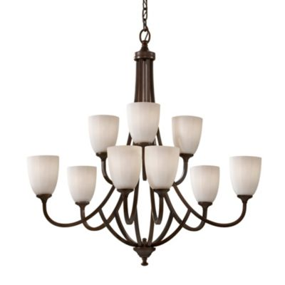 Perry 9-Light Multi-Tier Chandelier