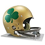 NCAA Notre Dame Shamrock TK Suspension Football Helmet
