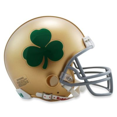 Riddell® Notre Dame Shamrock Speed Mini Helmet