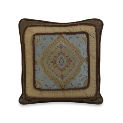 Bianca Luxury Piped Square Throw Pillow