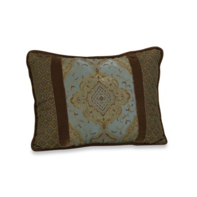 Bianca Luxury Piped Rectangle Throw Pillow