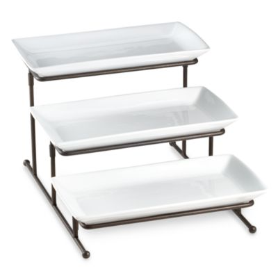 B. Smith 3-Tier Swivel Step Server