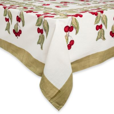 Couleur Nature Cherry Tablecloth