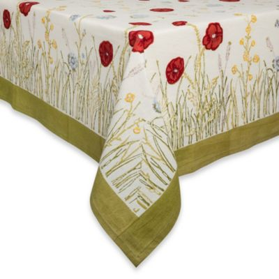 Couleur Nature Springfields 70-Inch Round Tablecloth