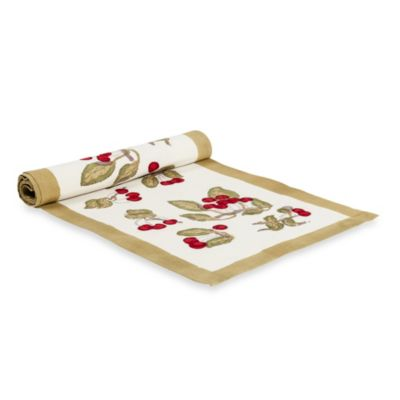 Couleur Nature Cherry Table Runner