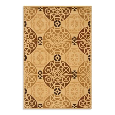 Safavieh Capri 3-Foot x 5-Foot Rug in Gold