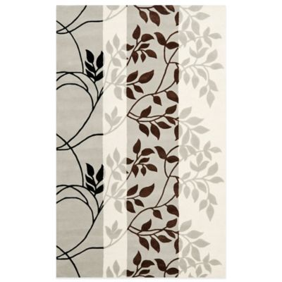 Safavieh Capri 4-Foot x 6-Foot Rug in Grey/Multi