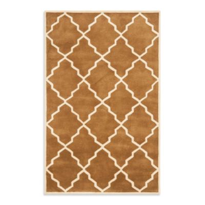 Safavieh Chatham 7-Foot Round Rug in Brown
