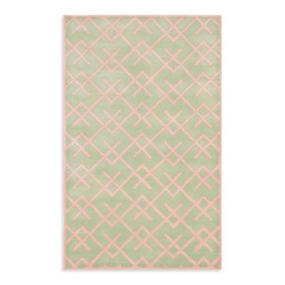 3 x 5 Safavieh Green Area Rug