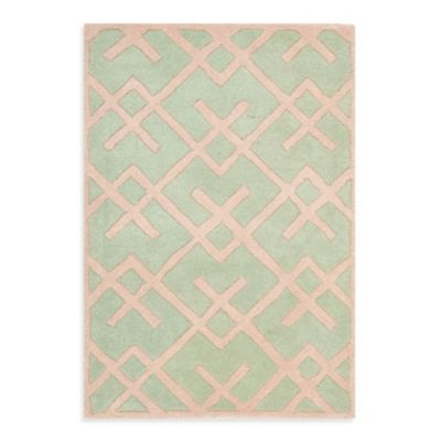 Chatham 4-Foot x 6-Foot Rug in Green