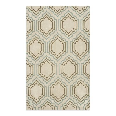 Safavieh Modern Art 4-Foot x 6-Foot Rug in Beige/Multi