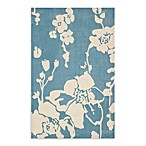 Safavieh Modern Art Rug in Blue/Ivory
