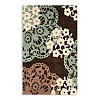 Safavieh Modern Art Rug in Brown/Multi