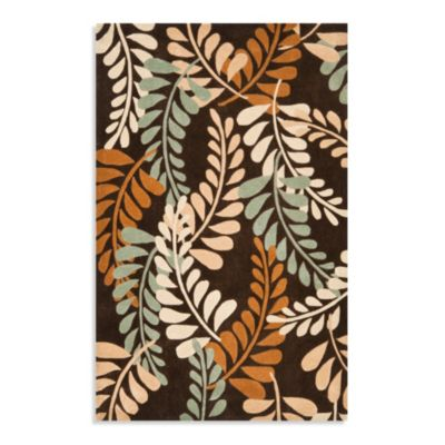 Safavieh Modern Art Rug in Brown/Beige