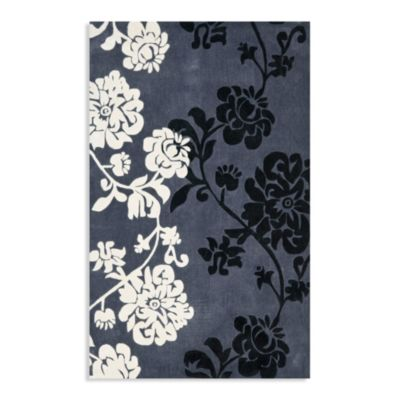 Dark Grey Art Rug