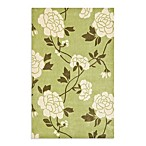 Safavieh Modern Art Rug in Green/Ivory