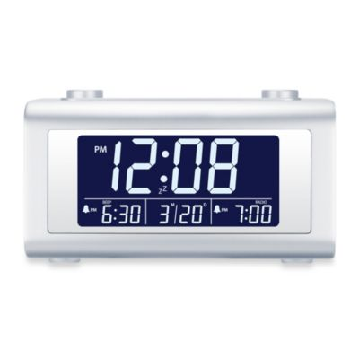 Nelsonic Automatic Time Set Digital Alarm Clock Radio