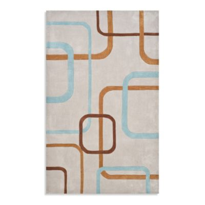 Safavieh Modern Art 7-Foot Square Rug in Grey