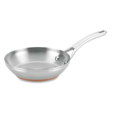 Anolon® Nouvelle Copper Stainless Steel 8-Inch French Skillet