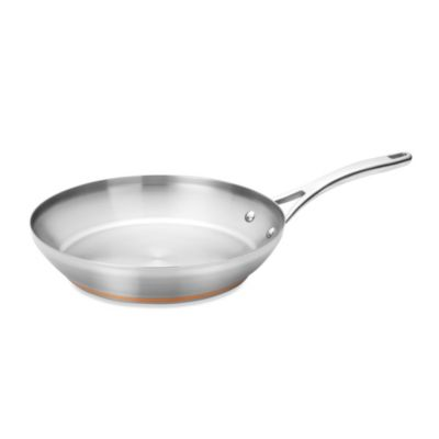 Anolon® Nouvelle Copper Stainless Steel 12-Inch French Skillet