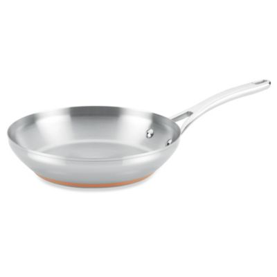 Anolon® Nouvelle Copper Stainless Steel 10.5-Inch French Skillet