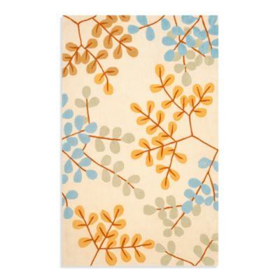 Safavieh Modern Art Rug in Ivory/Multi