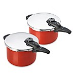 Fagor® Cayenne Pressure Cookers in Red