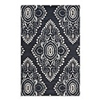 Safavieh Wyndham Amiya Hand-Tufted Wool Rug in Dark Grey/Ivory