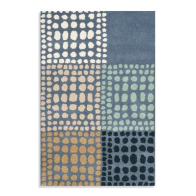 Safavieh Wyndham Gia 2-Foot 6-Inch x 4-Foot Hand-Tufted Wool Accent Rug in Grey/Multi