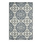 Safavieh Wyndham Irina Hand-Tufted Wool Rug in Silver/Blue