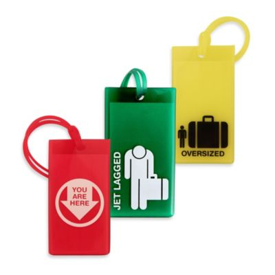 "Flight 001 ""Jet Lagged"" Luggage Tag"