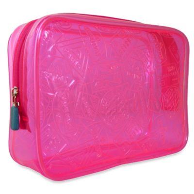 Flight 001 Xray Quart Bag in Pink