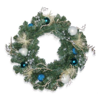 Tropical 24-Inch Decorated Wreath