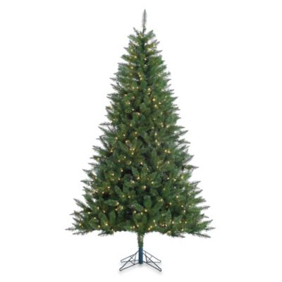 Vickerman 7.5-Foot Lincoln Fir Tree with Clear Lights