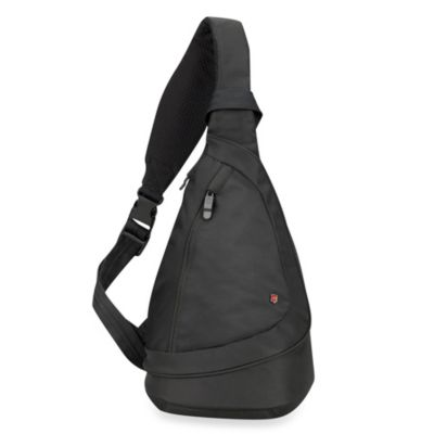 Victorinox® Teardrop Monosling On-the-Go Travel Bag in Black