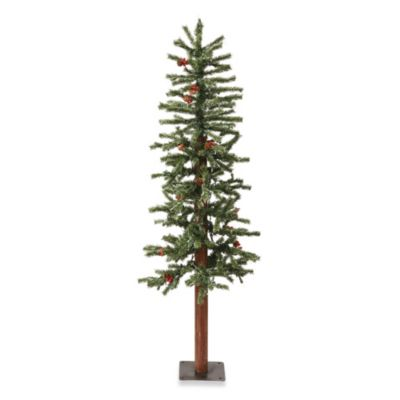 4-Foot Frosted Alpine Christmas Tree
