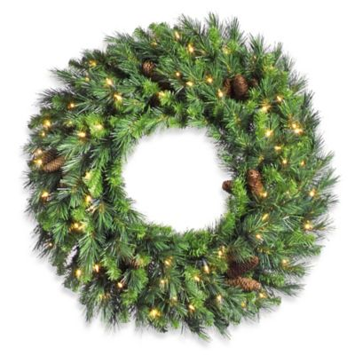 Vickerman 24-Inch Cheyenne Pine Wreath