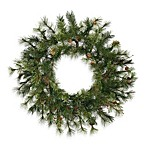Vickerman 30-Inch Mixed Country Pine Wreath
