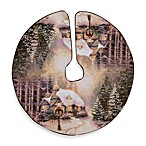 Thomas Kinkade Stonehearth Christmas Tree Skirt