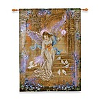 26-Inch x 36-Inch Angel of Light Fiber Optic Tapestry