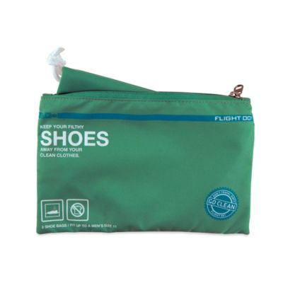 Flight 001 Go Clean Shoe Bag in Mint