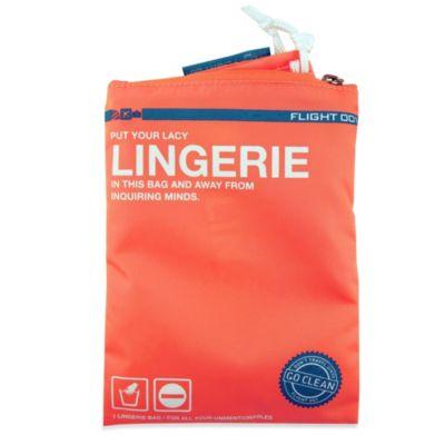 Flight 001 Go Clean Lingerie Bag in Peach
